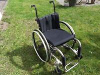 """Invacare XLT Lightweight Rigid Wheelchair 14x15"""""""