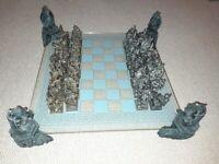 For sale dragon figure chess set