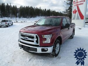 2015 Ford F-150 XLT Super Crew 4x4 - 75,327 KMs, 6 Passenger