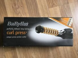 Babyliss curl press