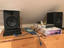 PreSonus Eris E5 speaker x2 - like new - SOLD