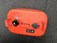 Outboard motor fuel tank