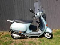 Piaggio et2 50cc Full logbook Two keys