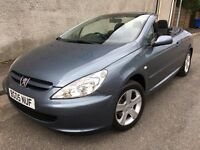 Stunning 2005 05 Peugeot 307 2.0S CC Convertible **Only 58000+Just Serviced+Folding Hardtop**