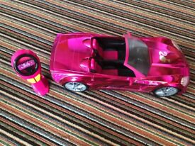 Remote control Barbie car