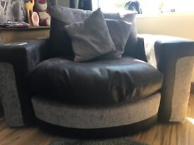 3 seater sofa and soundchair