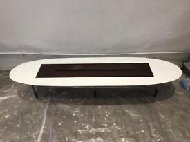 Long Oval Coffee Table