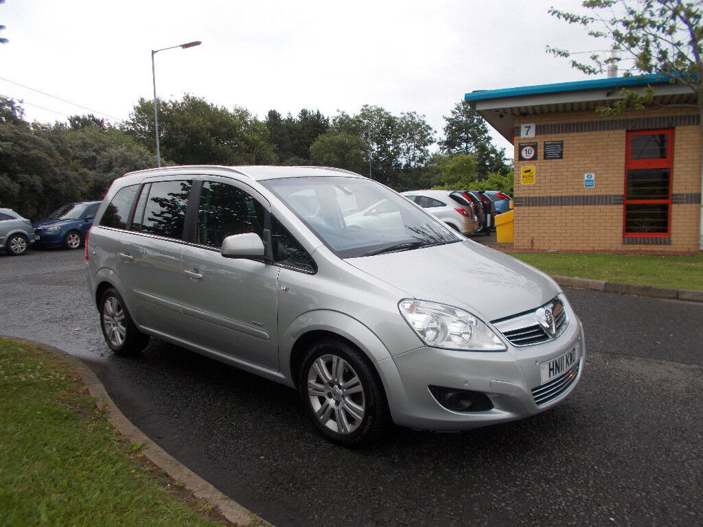 VAUXHALL ZAFIRA 1.7 CDTI DIESEL ELITE TOP OF THE RANGE 7 SEATER 2011 BARGAIN £3495 *LOOK*PX/DELIVERY