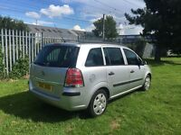 2007 Vauxhall Zafira 1.9 Diesel, 7 Months MOT, Private Plate Included!!