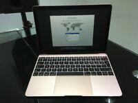 Apple MacBook 12 Early-2016 Rose Gold m5 1.2GHz Dual Core 512GB SSD 8GB RAM