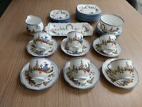 36 pieces of Dainty Dina china