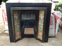 Stovax Cast Iron Tiled Insert Fireplace