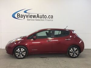 2013 Nissan LEAF S- ELECTRIC! ALLOYS! LEATHER! NAV! BLUETOOTH!