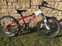 """Jamis Boys 18"""" tyre mountain bike alloy frame."""
