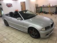 !!ONE OWNER!! 2003 BMW 330 CI SPORT CONVERTIBLE / 12 MONTHS MOT / FULL SERVICE HISTORY INC RECEIPTS
