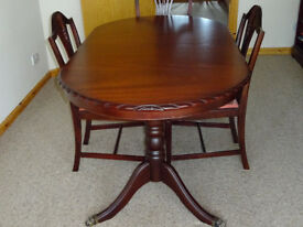 John Coyle Rope Edge Dining Room Set