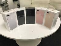 iPhone 7 Plus 128 GB sim free brand new sealed phone all colours