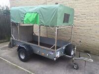 "IFOR WILLIAMS P7 E TRAILER 7ft 2"" X 4ft (Quad, Motorbike, Camping, )"