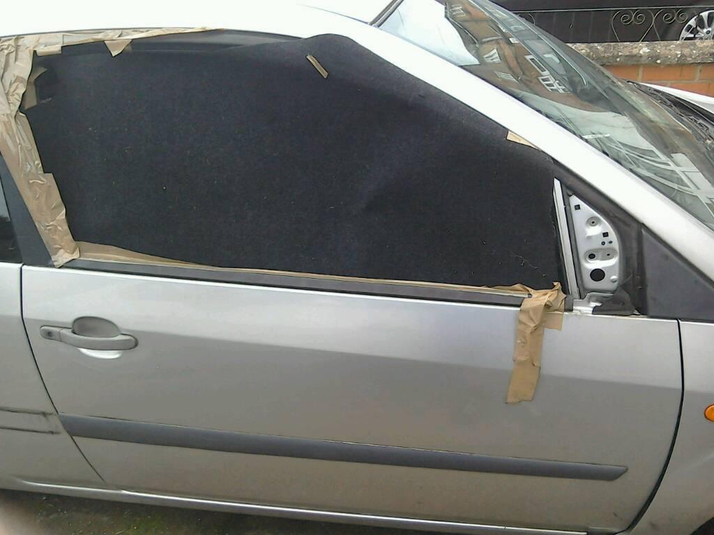 Fiesta driver door