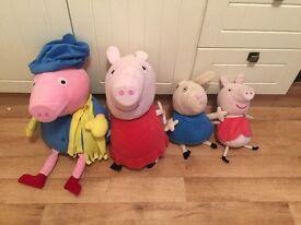Peppa pig teddys