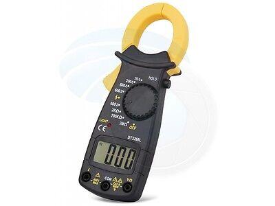 Digital Acdc Voltage Clamp Meter Multimeter Current Volt Tester Tool