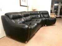 Large Leather Corner Sofa £200 O.N.O.