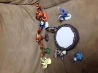 Power portal and Sky landers