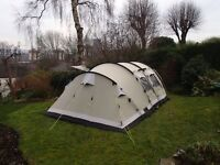 Outwell Arrow Lake family tent. Sleeps 6. Sheffield