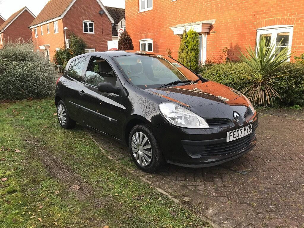 2007 renault clio 1 5 dci turbo diesel 3dr 30 tax 60 mpg a c in norwich norfolk gumtree. Black Bedroom Furniture Sets. Home Design Ideas