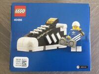 LEGO 40486 - Mini Adidas Originals Superstar - Brand New & Factory Sealed