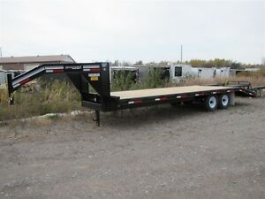 2016 CornPro 25' - 7 TON EQUIPMENT TRAILER Golden