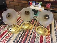 3 ring lighting wall lamp electric £8