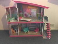 Barbie style house