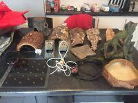 Job lot of vivarium equipment