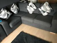 DFS corner sofa and 2 seater