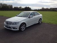 Mercedes Benz C320 Diesel 7 Triptronic Automatic with paddle shift, low mileage and VGC