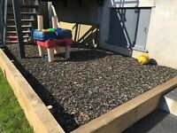 Rubber Mulch Chippings, play area, Terrasofta