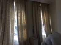 X6 pairs of tall curtains