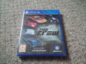 EXCELLENT The Crew PS4 Game BRAND NEW SEALED £20 NO OFFERS