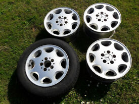 Mercedes 8 Hole alloys x 4