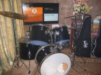 Vintage mid 70's Pearl Maxwin Rock kit