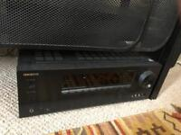 Onkyo HTS5805 5.1.2 Dolby Atmos Receiver and Speaker Surround Sound Package
