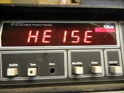 Used Lab Test Equipment Heise Digital Pressure Indicator 901a