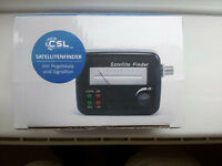 CSL Satellite Finder meter - brand new in box