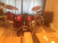 Funky r&b gospel drummer available