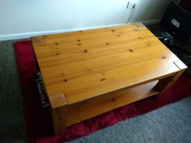 Wooden coffee table, cheap living room furniture