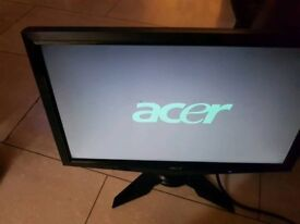 Computer Monitor Acer G195HQV 19 inch