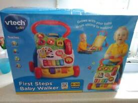 Vtech baby walker with lights and sounds still boxed £20