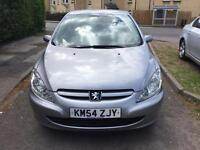 Peugeot 307 2.0HDi excellent drive service history 12 month hpi clear