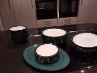 DENBY GREENWICH DINNER SERVICE